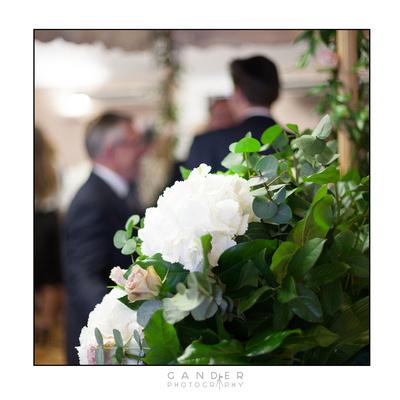 Chuppa at Jewish Wedding Ceremony