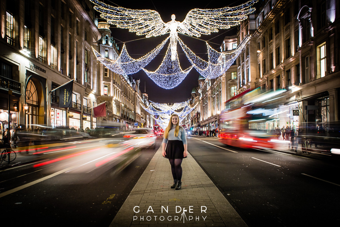 Gander Photography Xmas Lights London