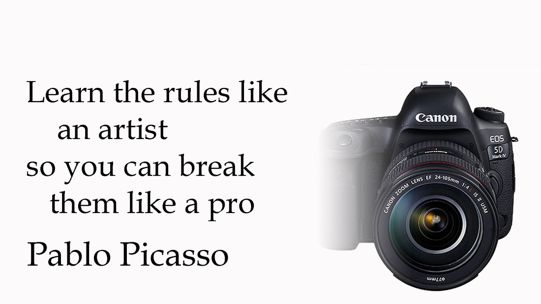 Learn the rules like and artist Picasso